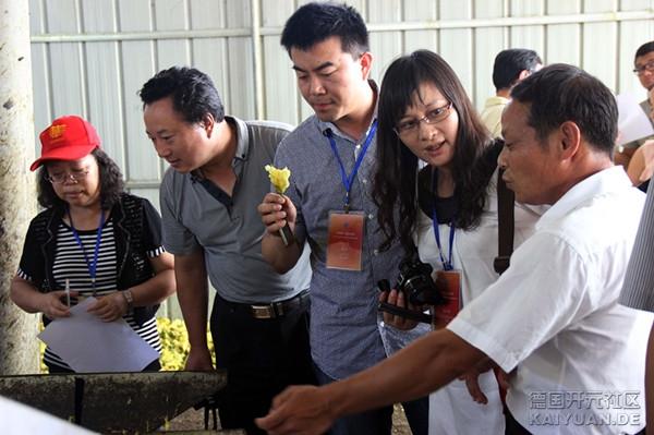 27日,来自世界五大洲19个国家和地区的36家海外华文媒体的老总、编辑、记者走进江西乐.jpg